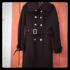 Miss sixty double breasted wool coat